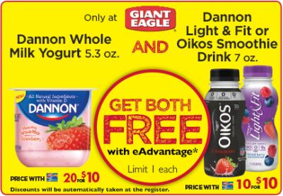 Free-dannon-yogurt-and-smoothie-drink-giant-eagle