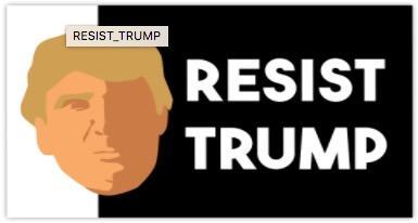 Free-quotresist-trumpquot-sticker