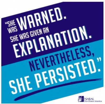 Free-quotshe-persistedquot-sticker