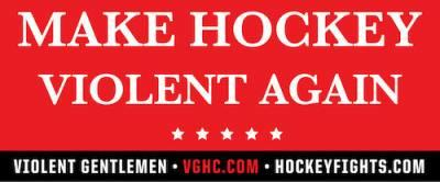 Free-make-hockey-violent-again-sticker