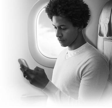 Unlimited-texting-and-one-hour-free-gogo-flight