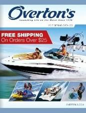 Free Overton's Water Sports Catalog