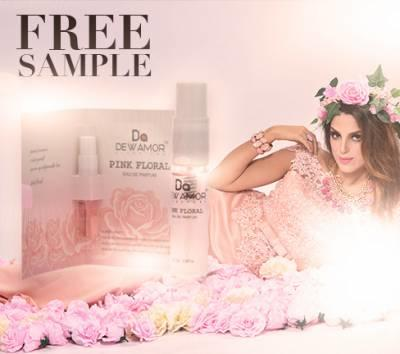 Free Sample Of Dewamor Signature Pink Floral Fragrance