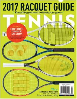 complimentary one year subscription to Tennis Magazine