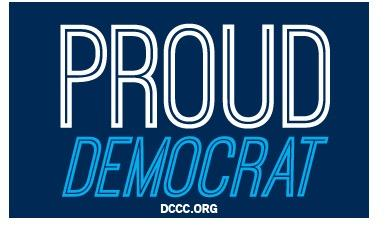 Free-sticker-proud-democrat