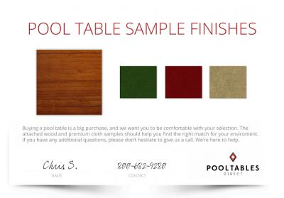 Free-pool-table-wood-or-cloth-finish-sample