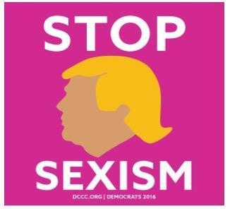 "Free Sticker - ""Stop Sexism"""