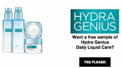Free-sample-hydra-genius-daily-liquid-care