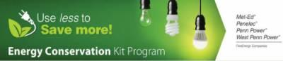 Free Energy Conservation Kit Program from FirstEnergy's Pennsylvania Utilities