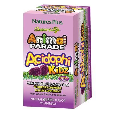 Free Animal Parade AcidophiKidz Children's Chewables