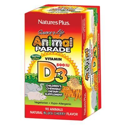 Free Animal Parade Vitamin D3 Chewable