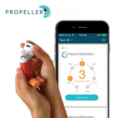Free Propeller Inhaler Sensor
