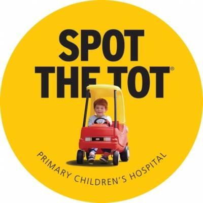 Free Spot The Tot Sticker