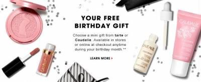 Free Birthday Gift from Sephora