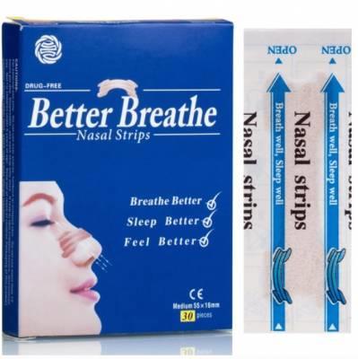 Free Samples of 'Better Breathe' nasal strips