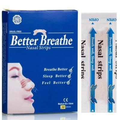 Free SnoreBore Better Breathe Nasal Strips