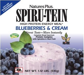 Free Blueberries & Cream SPIRU-TEIN® Shake