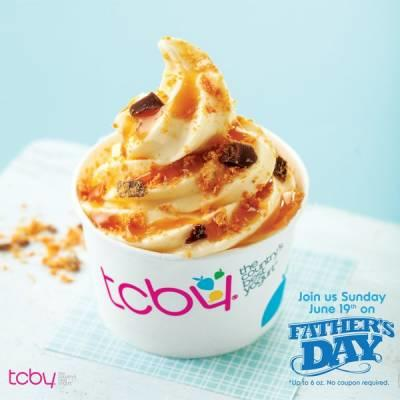 Free TCBY Frozen Yogurt For Dad