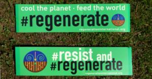 Free Resist and Regenerate Bumper Sticker