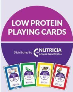 Free Low Protein Playing Cards from Nutricia Metabolics