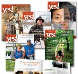 Free 1 Year Yes Magazine Subscription for Teachers and School Librarians