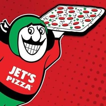 Free Jet's Bread or Small Pizza at Jet's Pizza