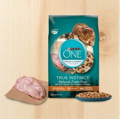 Free Sample of PURINA ONE TRUE INSTINCT