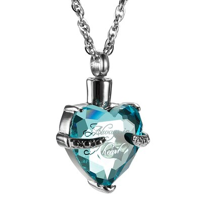 Free Glass Cremation Jewelry Sample
