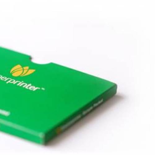 Free GreenPrinter Paper Stock Sample Kit For Companies