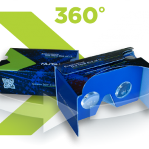 Free Google Cardboard Headset (From Nutanix)