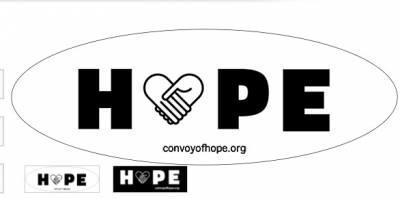 Free Sticker - Convoy of Hope