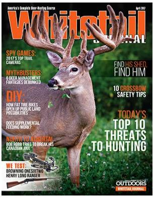 Free one year subscription to Whitetail Journal Magazine