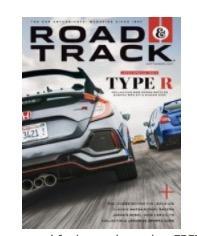 Free Road Track Magazine