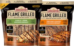 FREE Package of Johnsonville Flame Grilled Chicken