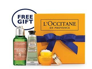 Free Gift from loccitane