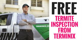 Free Sample Inspection From Terminix