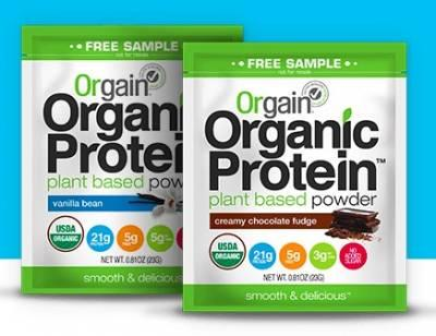Organic Protein Powder - Free Sample
