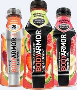 Body Armour - Free Drink