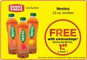 Nestea 23oz - Free Bottle