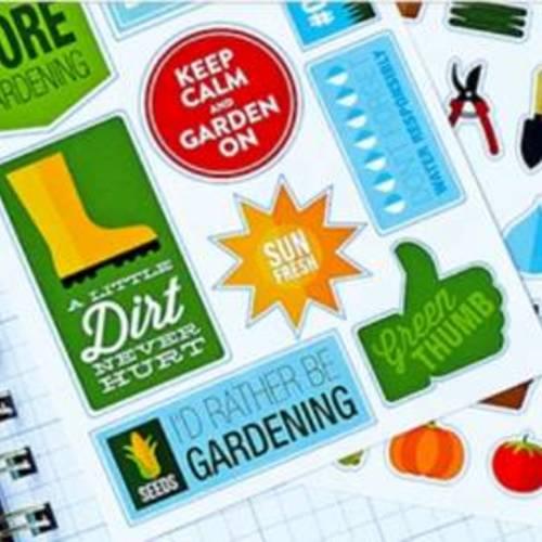 Gardening Stickers - Free Packet