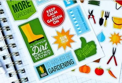 Gardening Stickers - Free Packet
