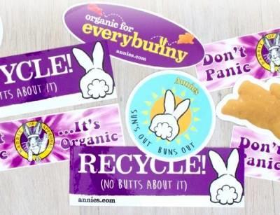 Annie's - Free Stickers