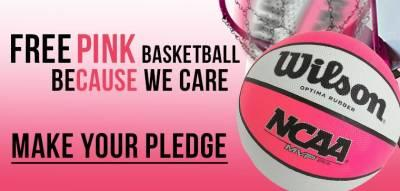 Pink Basketball - Free At RC Willey Stores
