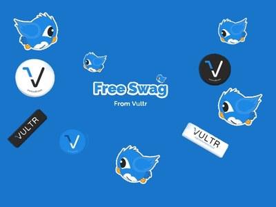 Vultr - Free Sticker