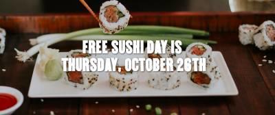 Sushi Day at PF Changs
