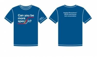 "Free T-shirt - ""Can you be more specific?"""