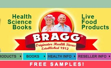Bragg Health Facts Info Package - Free Sample Packets
