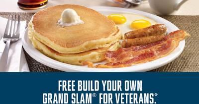 Free Denny's Grand Slam For The Military