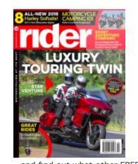 Rider Magazine - Free Subscription