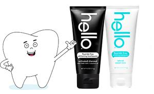 Hello Fluoride Free Toothpaste - Free Sample